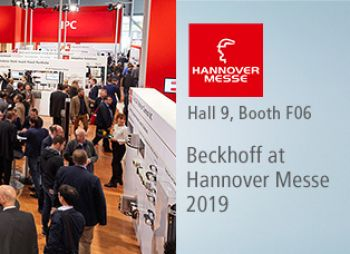 Picture BECKHOFF at #hm19